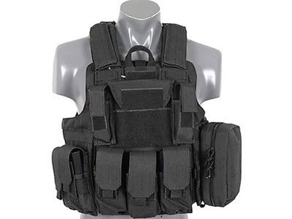 Picture of VEST TACTICAL CIRAS BK