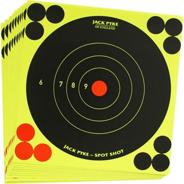 "Picture of 6"" SPOT SHOT TARGETS X 100"