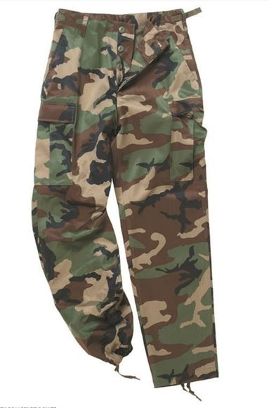 Picture of US W/L BDU STYLE FIELD PANTS