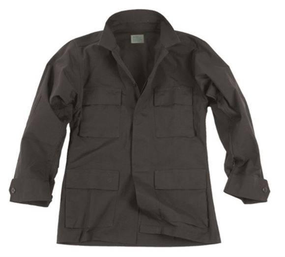 Picture of US BLACK R/S BDU FIELD JACKET