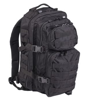 Picture of BLACK BACKPACK US ASSAULT SMALL
