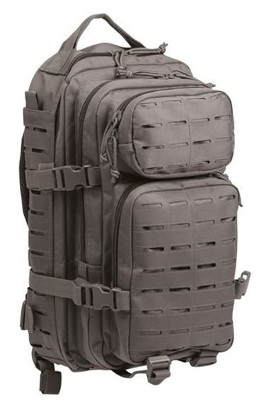Picture of US URBAN GREY LASER CUT ASSAULT BACKPACK SM