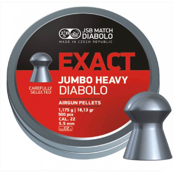 Picture of DIABOLO EXACT JUMBO HEAVY .22
