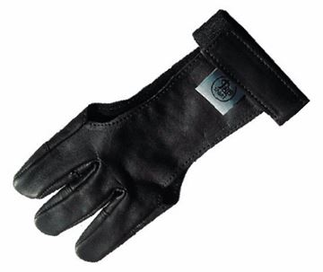 Picture of ARCHERY BLACK GLOVE LEATHER M