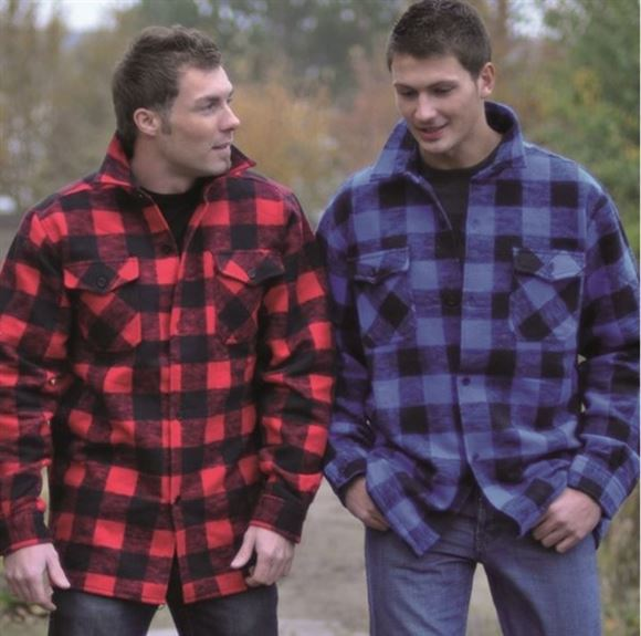 Picture of BLUE FLANNEL SHIRT